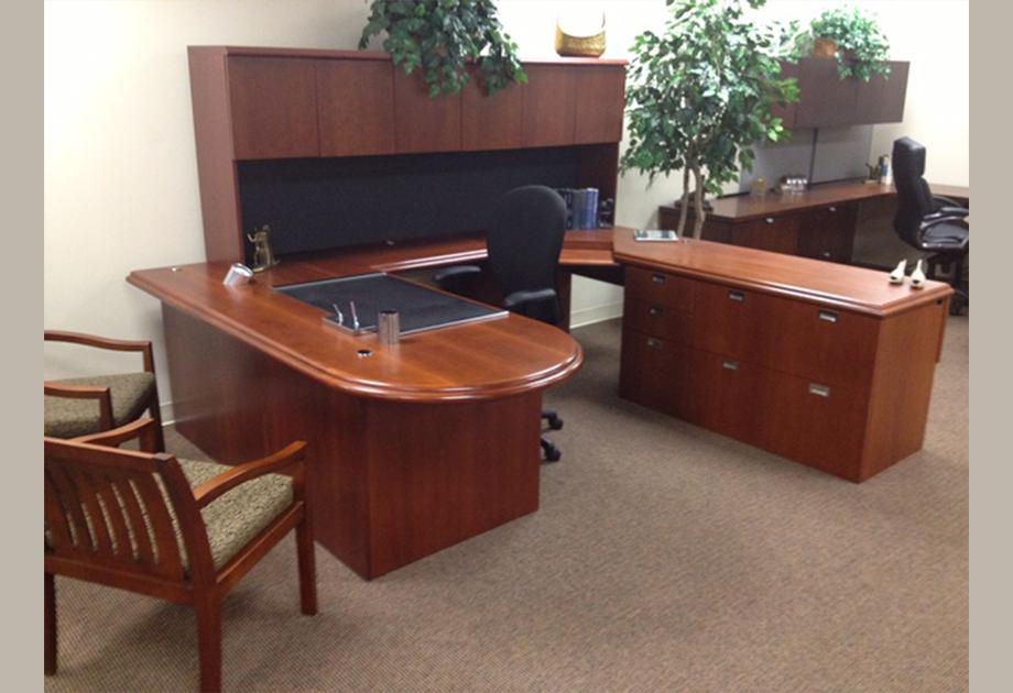 Kimball Desk Set Ros Office Furniture