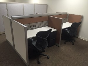 Cubicle for office Busy Refurbished Office Furniture Office Cubicles Lenexa Ks