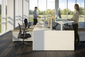 Open Plan Office Furniture Overland Park KS